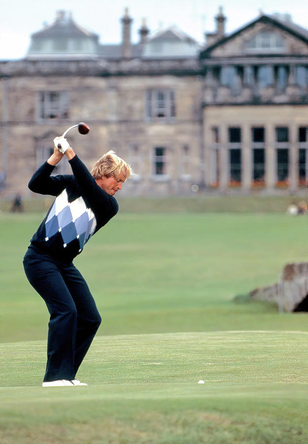 Jack Nicklaus At St. Andrews 1978 Photograph