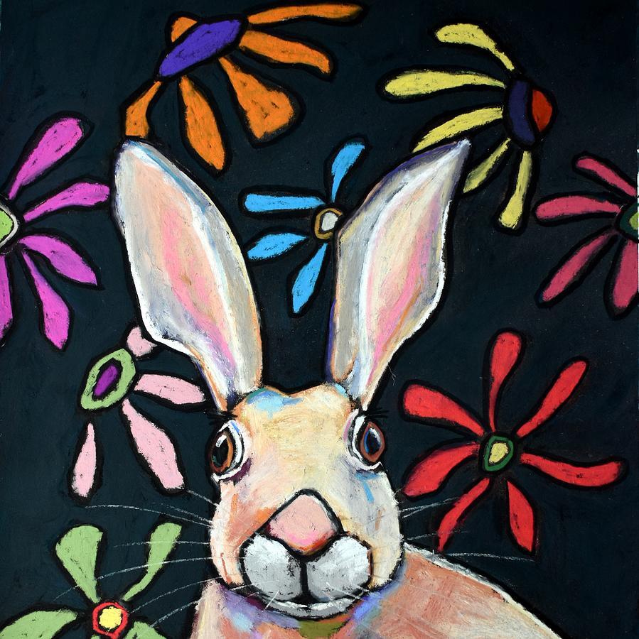Jack The Rabbit - Crop Painting