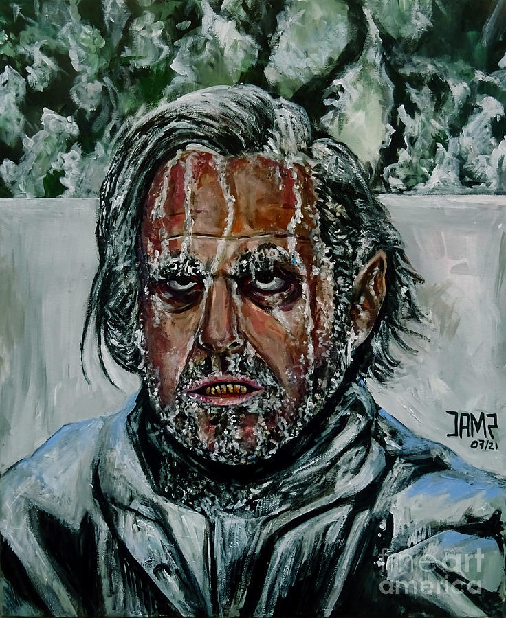 The Shining Painting - Jack Torrance by Jose Mendez