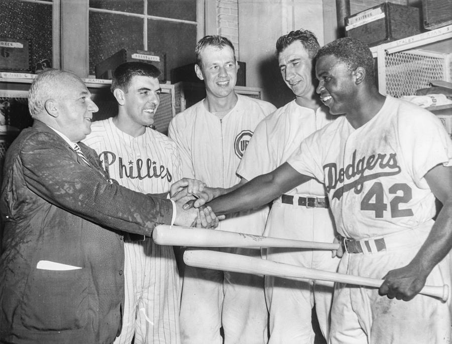 Jackie Robinson Photograph by The Stanley Weston Archive