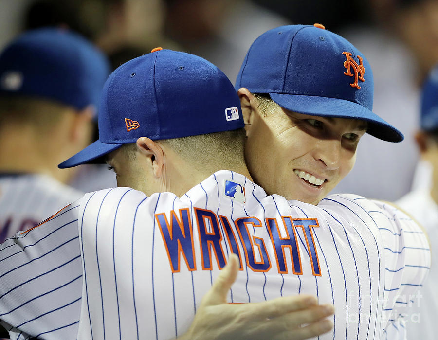 Jacob Degrom And David Wright Photograph by Elsa