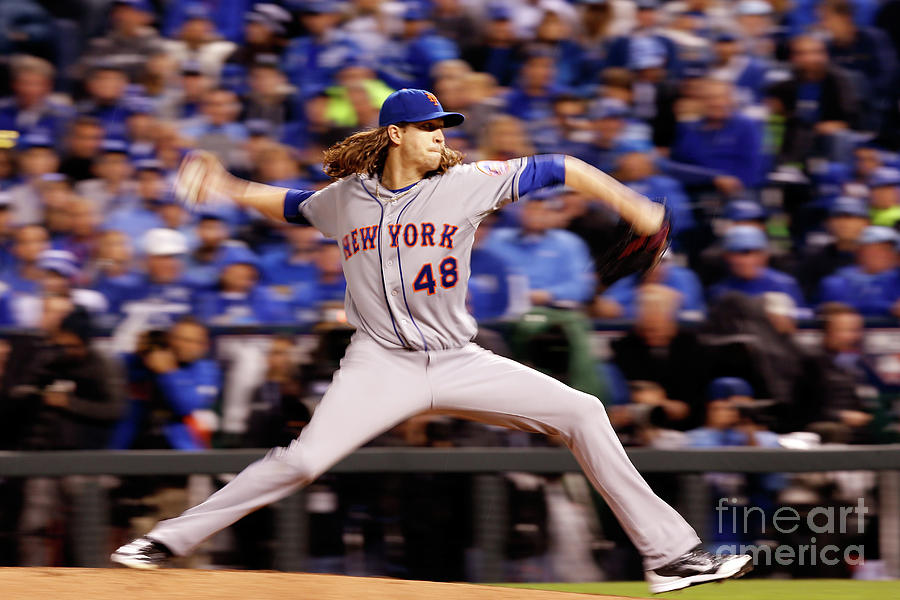 Jacob Degrom Photograph by Christian Petersen