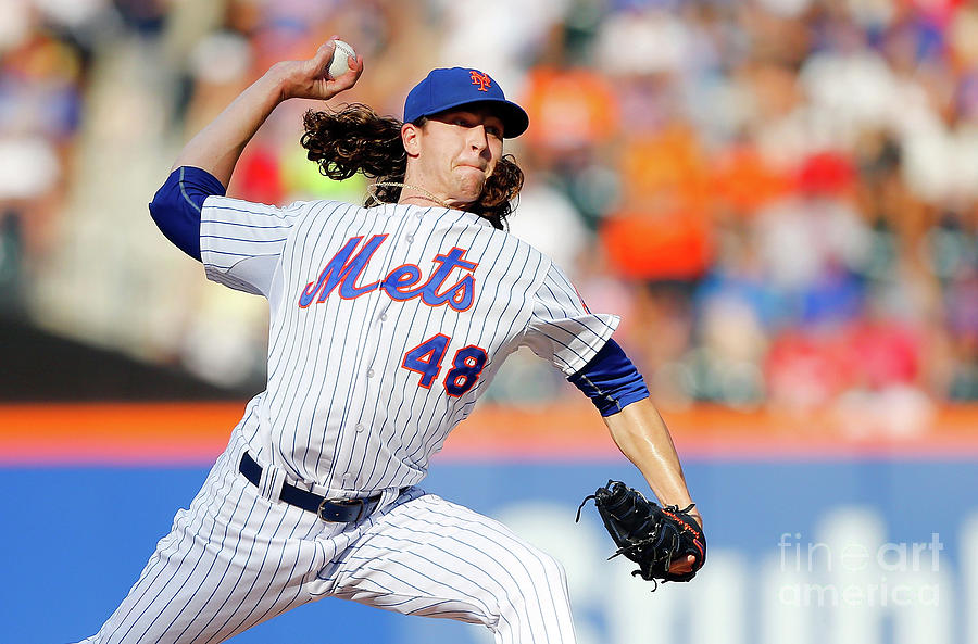 Jacob Degrom Photograph by Jim Mcisaac