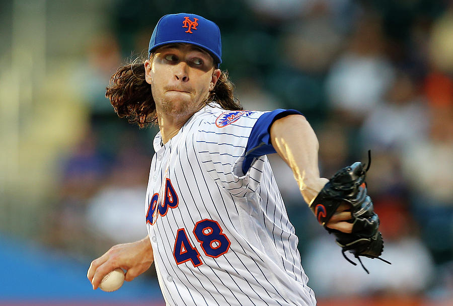 Jacob Degrom Photograph by Rich Schultz