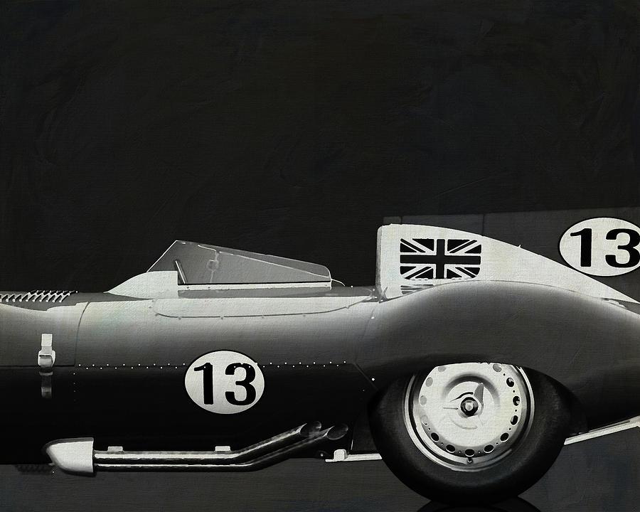 Jaguar Type D 1956 by Jan Keteleer