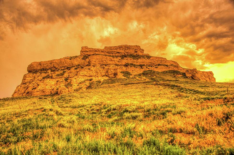 Jailhouse Rock In Western Nebraska Photograph