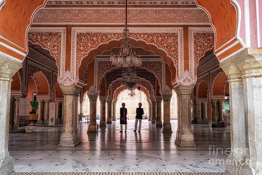 Arch Photograph - Jaipur City Palace by Aaron Choi