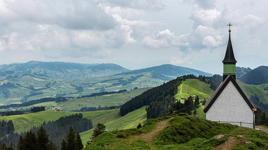 Jakobskapelle - Kronberg, Appenzellerland by Andreas Levi