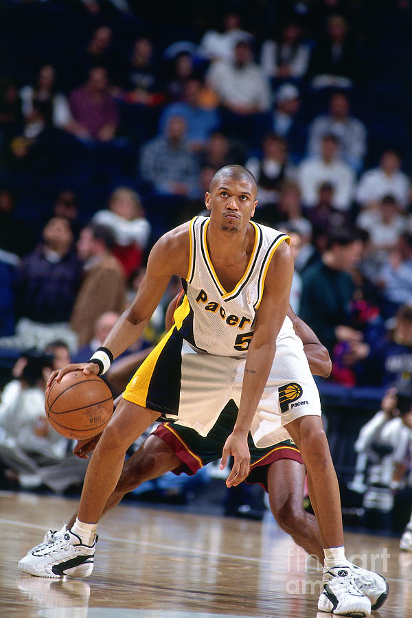 Jalen Rose Photograph by Nathaniel S. Butler