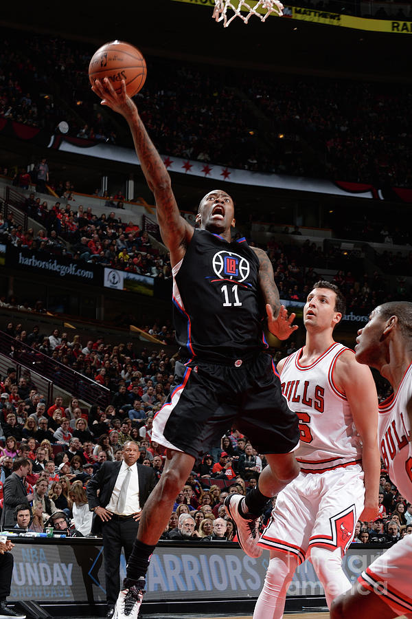 Jamal Crawford Photograph by Randy Belice