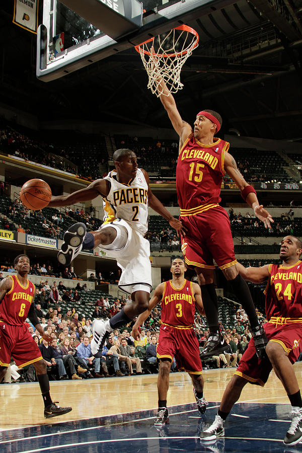 Jamario Moon and Darren Collison Photograph by Ron Hoskins