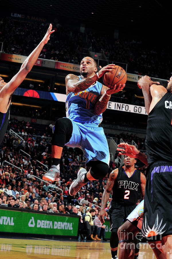 Jameer Nelson Photograph by Barry Gossage