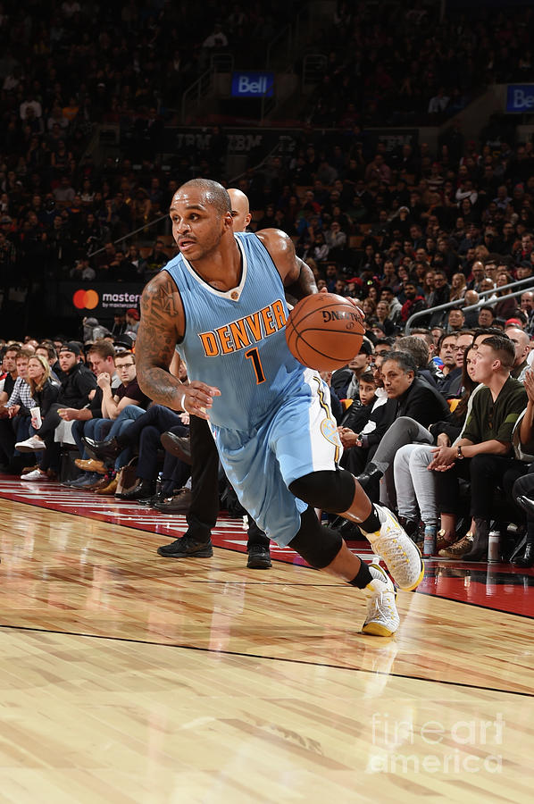 Jameer Nelson Photograph by Ron Turenne