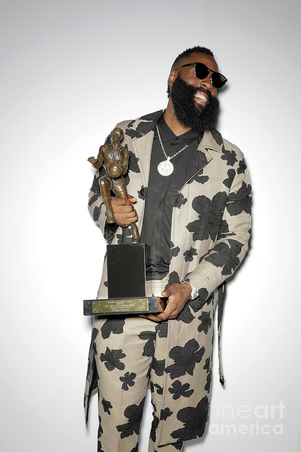 James Harden Photograph by Atiba Jefferson