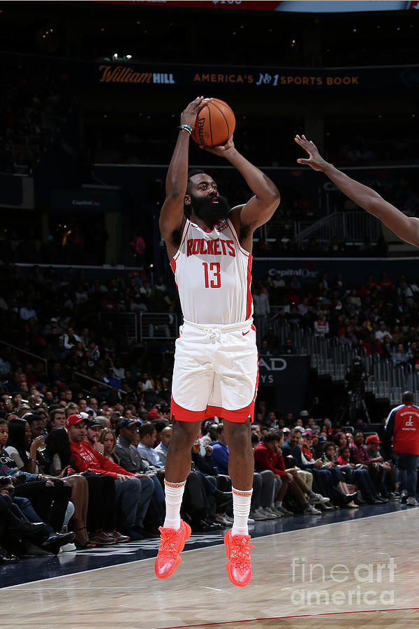 James Harden Photograph by Stephen Gosling