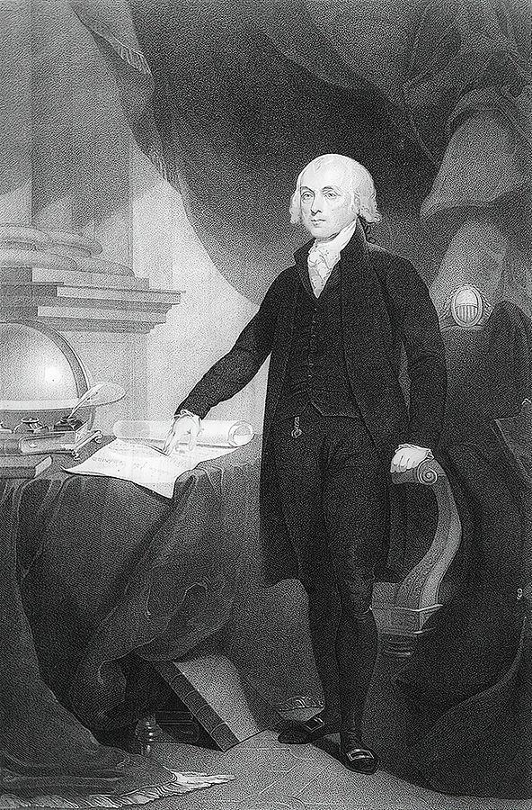 James Madison Painting