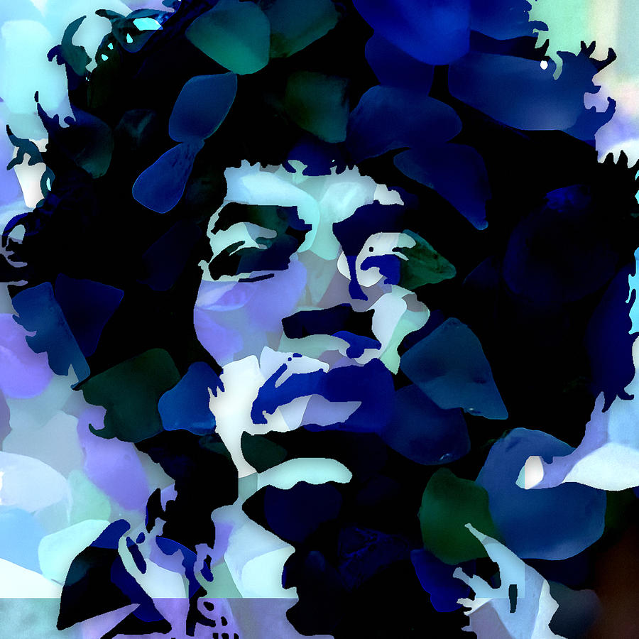 James Marshall Jimi Hendrix by Marvin Blaine