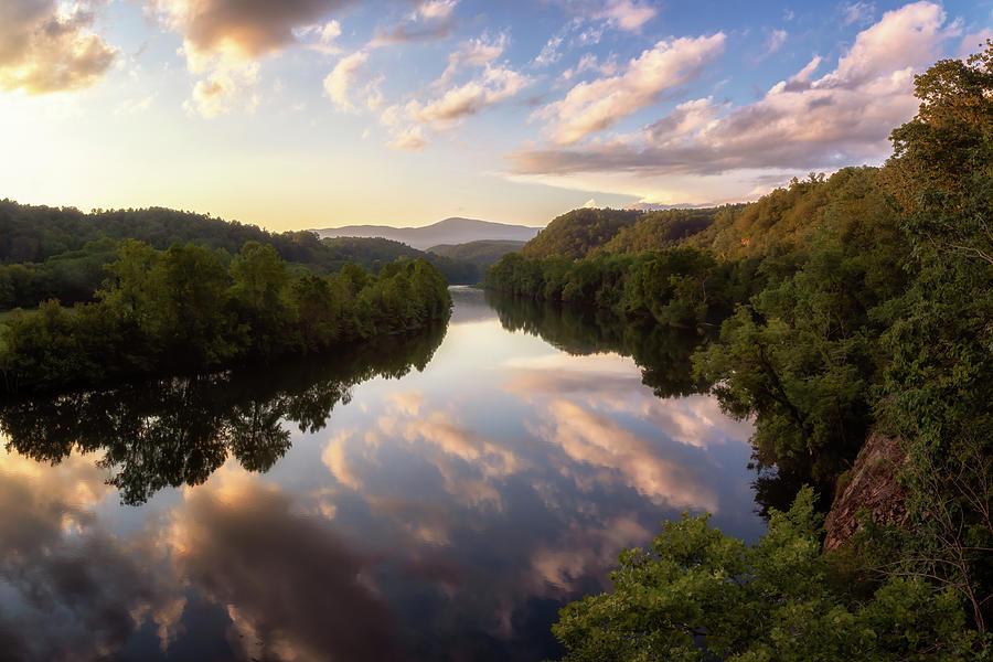 James River - Blue Ridge Parkway Photograph