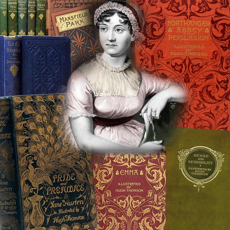 Jane Austen by Andrew Fare