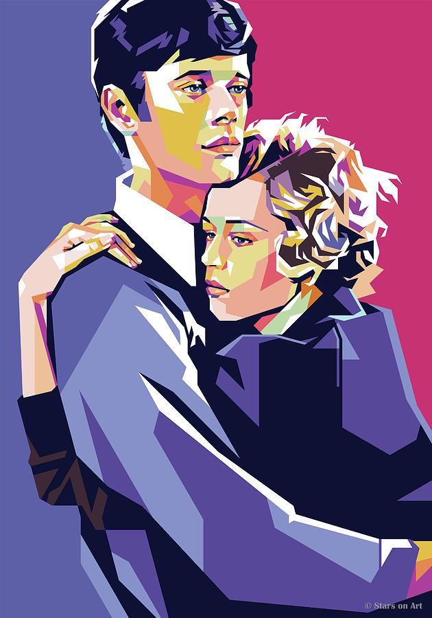 Jane Fonda And Michael Sarrazin Digital Art