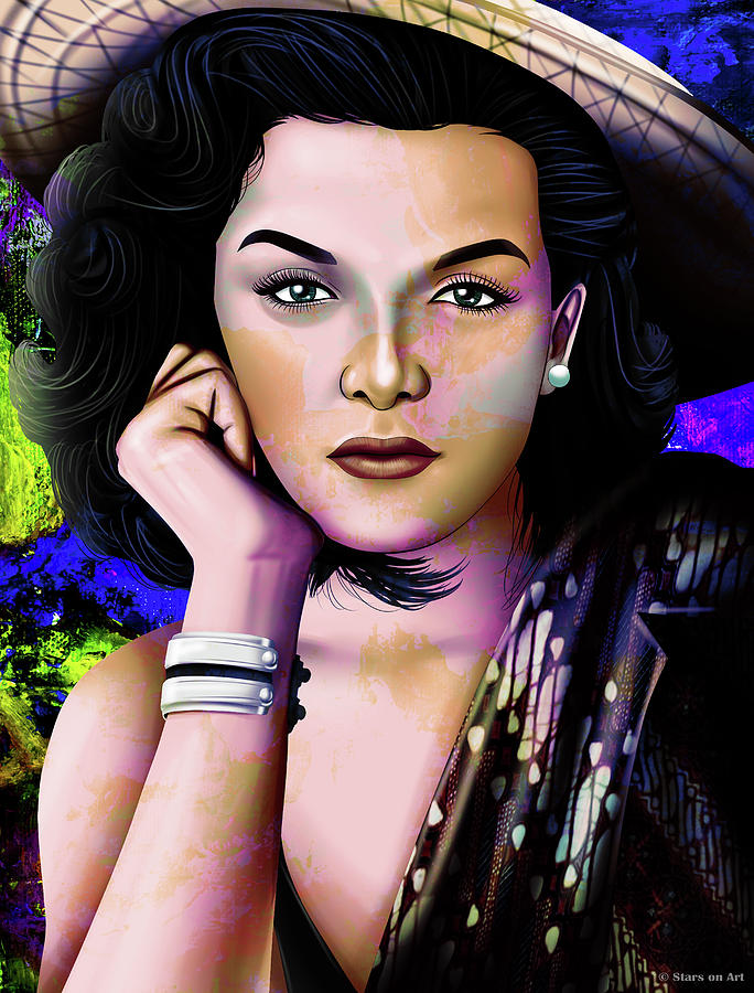 Jane Russell Illustration Mixed Media