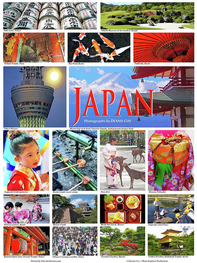 Japan Travel Poster Photograph