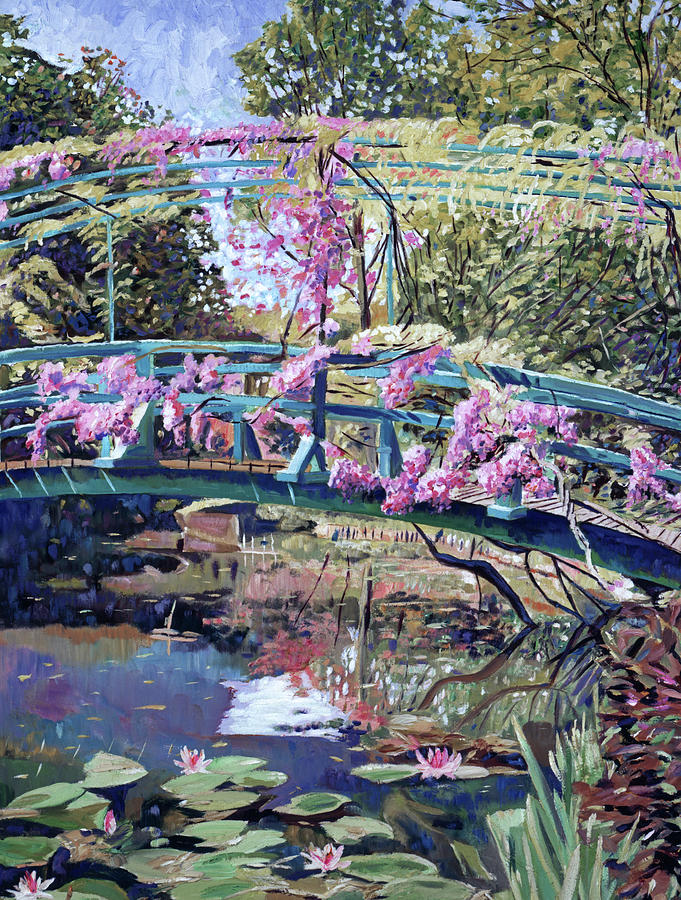 Japanese Footbridge Giverny Painting