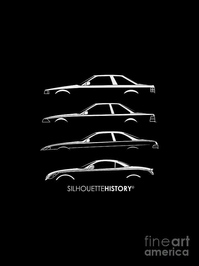 Japanese Gran Turismo SilhouetteHistory by Gabor Vida