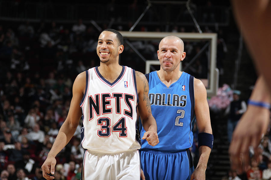 Jason Kidd and Devin Harris Photograph by Nathaniel S. Butler