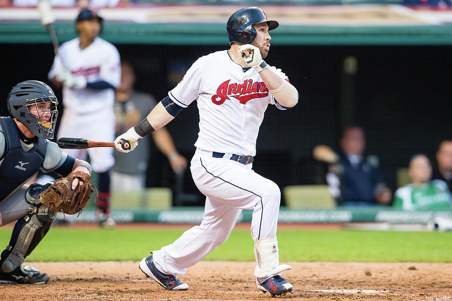 Jason Kipnis Photograph by Jason Miller