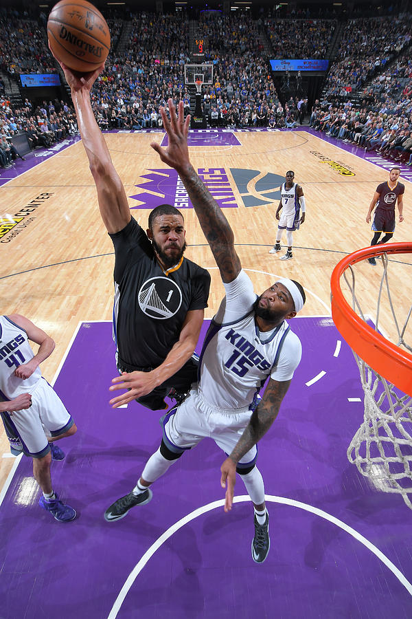 Javale Mcgee and Demarcus Cousins Photograph by Rocky Widner