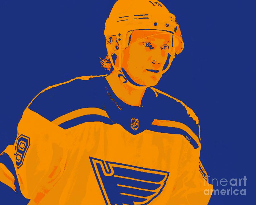 St. Louis Painting - Jay Boowmeester by Jack Bunds