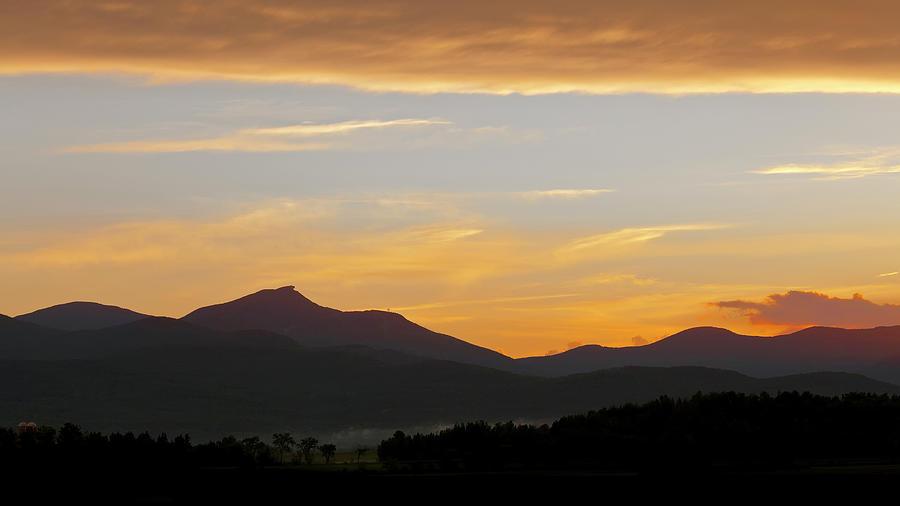Jay Peak Summer Evening Photograph