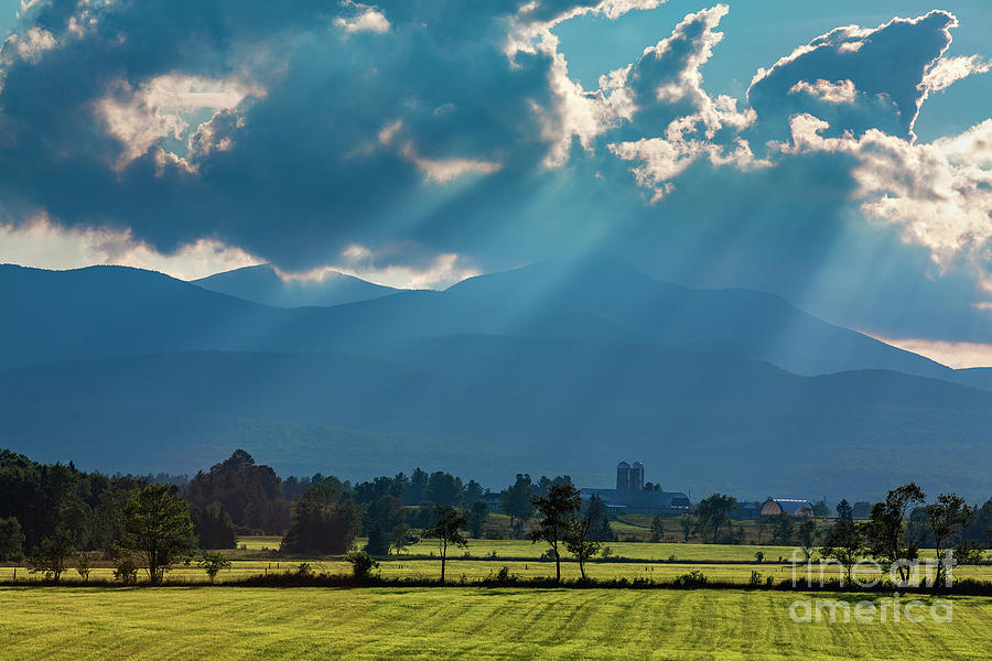 Jay Peak Summer Landscape Photograph