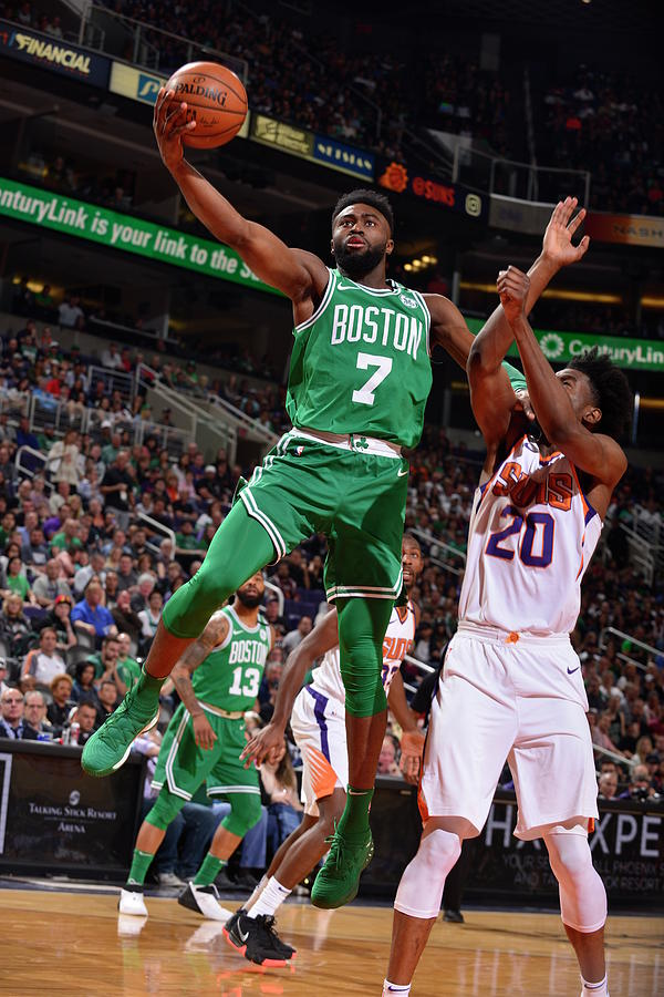 Jaylen Brown Photograph by Barry Gossage
