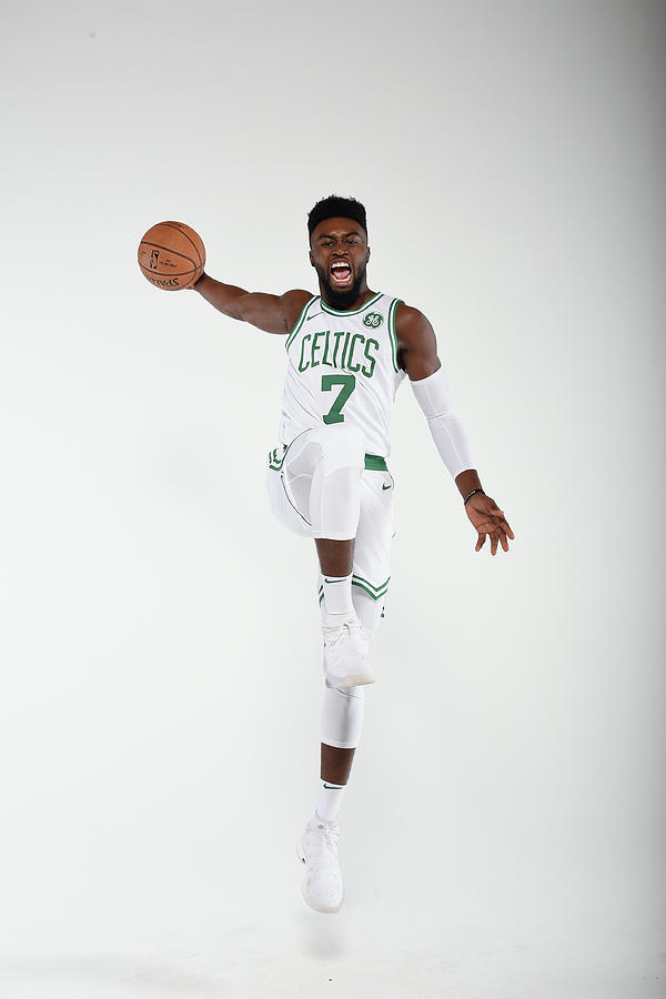 Jaylen Brown Photograph by Brian Babineau