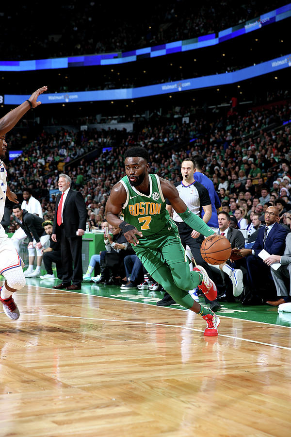 Jaylen Brown Photograph by Chris Marion