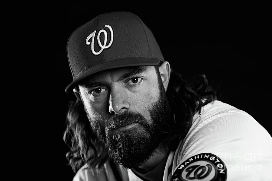 Jayson Werth Photograph by Chris Trotman