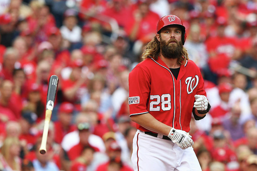 Jayson Werth Photograph by Elsa