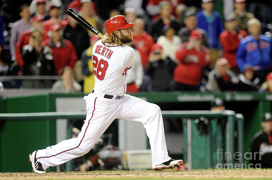 Jayson Werth Photograph by Greg Fiume