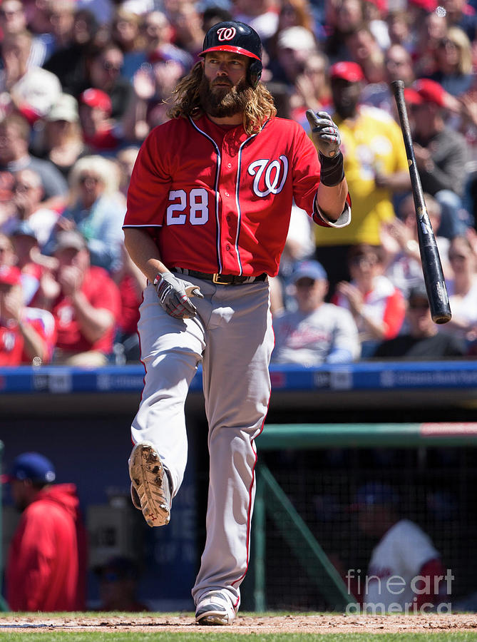 Jayson Werth Photograph by Mitchell Leff