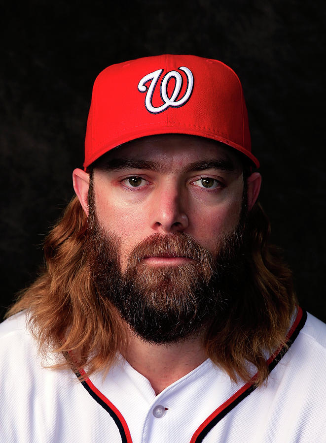 Jayson Werth Photograph by Rob Carr