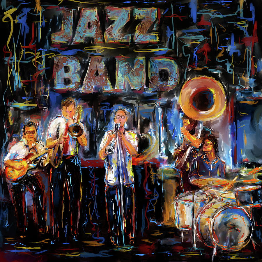 JAZZ BAND by Eduardo Tavares
