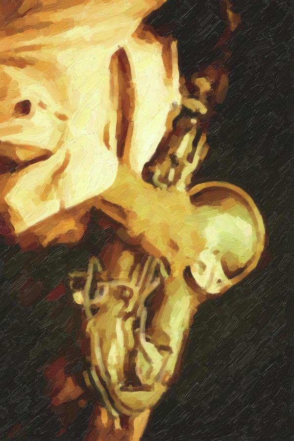 Saxophone Player Digital Art - Jazz Hands - Saxophone by Regina Wyatt