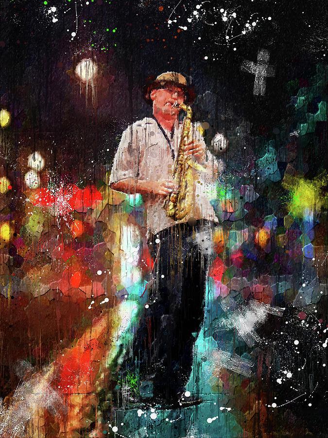 Jazz in the street by Gary De Capua