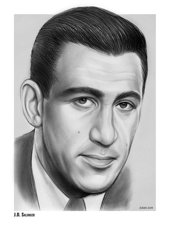 Jd Salinger Drawing
