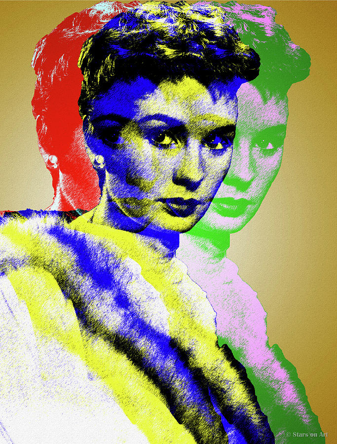 Jean Simmons Digital Art