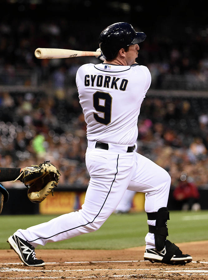Jedd Gyorko Photograph by Denis Poroy