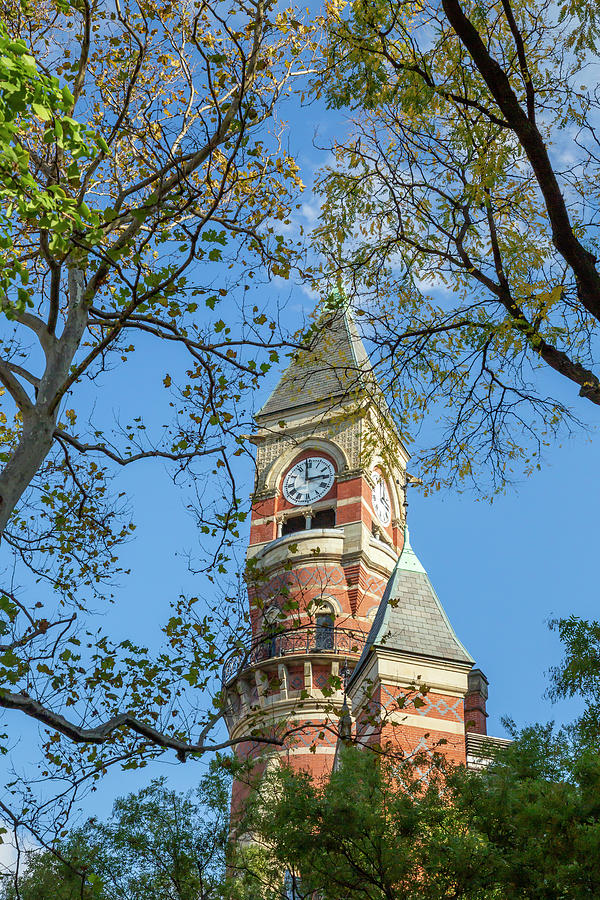 Jefferson Market Library Clock Tower by Cate Franklyn
