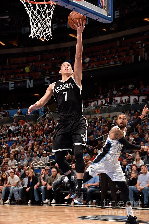 Jeremy Lin Photograph by Gary Bassing